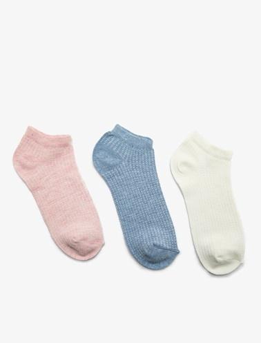 Koton 3'lü Kadin Çorap Pembe